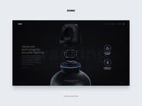 SONO Landing page - Animation