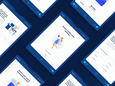 Medical Questionnaire iPad App clinic doctor illustraion survey questionnaire medical ipad pro responsive statistics data interaction interface analytics ui  ux ui strategy app product design interfaces dtailstudio