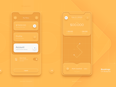Taxi Driver App UI - SET 1 schedule passenger product design dtailstudio booking data map ui location interactions interface driver taxi analytics tracking ui app earnings design system ux ios13
