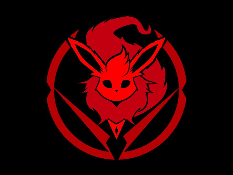Flareon flareon pokemon symbol mark logo icon emblem crest branding badge animal