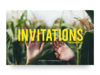 Invitation Up For Grabs