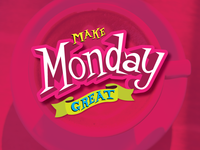 Make Monday Great - Handlettering