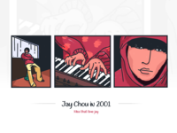 Jay Chou in 2001..miss