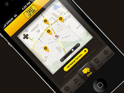 Taxiforsure dribbble shot