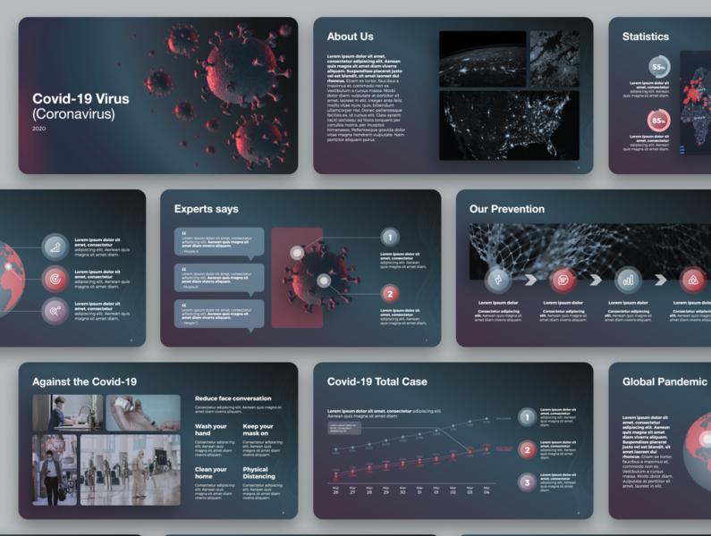 Presentation Template - Covid-19 Virus
