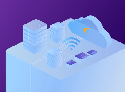 Cloud WiFi Concept