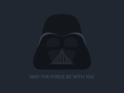 May the force be with you background anakin skywalker hans solo the force illustration flat icon jedi darth vader star wars