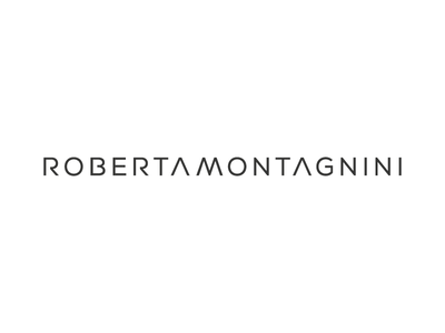 Personal logo roberta montagnini brand identity web design beautiful inspiration ui ux vector black  white simple branding personal logo logo