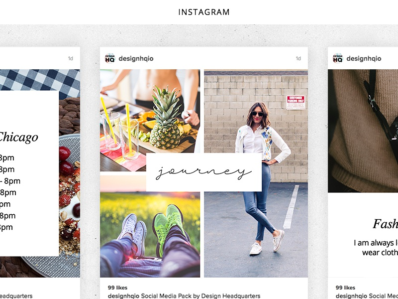 Social Media Creative Pack start up instagram photography beautiful designer design ui ux graphic template social media
