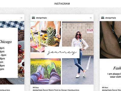 Social Media Creative Pack start up instagram photography beautiful designer design ui ux graphic template social media
