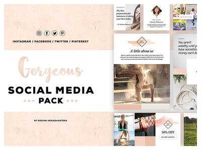 Gorgeous Social Media Creative Pack