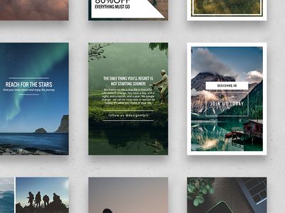 Pinterest  – Wonderful Social Media Pack
