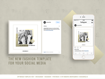 CHIC Social Media Template Pack