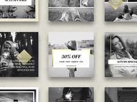 CHIC INSTAGRAM Social Media Template Pack