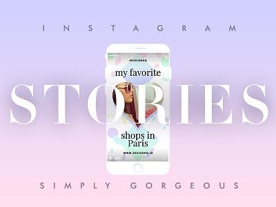 Instagram Stories iphone pastel gradient the best facebook social media instagram template instagram stories creative market