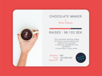 Daily UI #32 Crowdfunding Campaign
