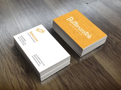 Butterscotch Business Cards business cards icons print identity marketing