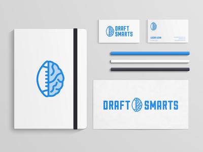 DraftSmarts Branding app branding identity logo design mark logo print draftsmarts