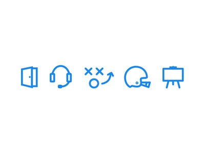 DraftSmarts Icons app icon graphic design mark iconography football sports draftsmarts