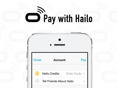 Pay with Hailo iOS app ui ux mobile pay payment notification hailo transportation