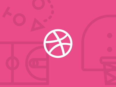 A New Playbook icons mark pattern basketball playbook blog dribbble button
