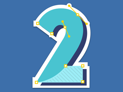 Two Year Anniversary Sticker new hire 2 passport number vector graphic design graphic illustration stickers sticker button