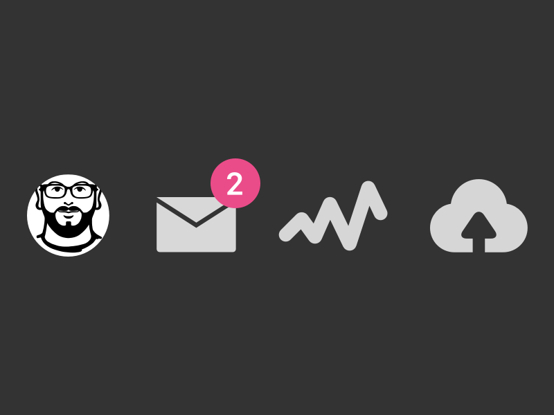 Dribble Invites (2) notification nav iconography icons draft prospect invitations invitation invites invite dribbble