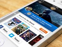 Warner Bros : VIP Rewards for iPhone (teaser)