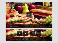 Simple Video Player UI