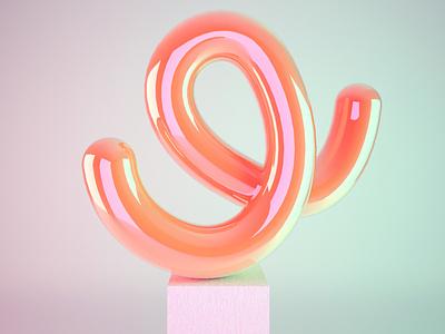 Ju Schnee Artwork Shape cgi rendering design art contemporary art 3d artist plastic art 3d art 3d