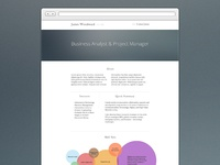 A Simple CV Site