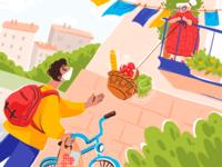 Helping Hand Illustration