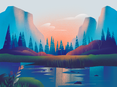Landscape Design Designs Themes Templates And Downloadable Graphic Elements On Dribbble