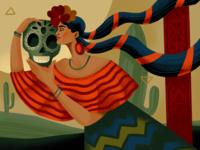 Ethnic Beauty: Mexico procreate art diversity culture woman mexican mexico ethnicity ethnic national illustrations procreate illustration art digital painting digital illustration illustrator design studio illustration graphic design digital art design