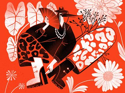 Botanicart: Red nature digital artwork procreate flowers hand painting stamp illustration art plants flora botanic colors red art digital illustration illustrator design studio illustration graphic design digital art design