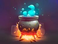 Environment Design: Magic Pot.