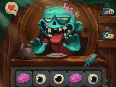 Zombar Game Character Animation