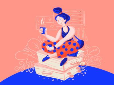Travel Mood Illustration