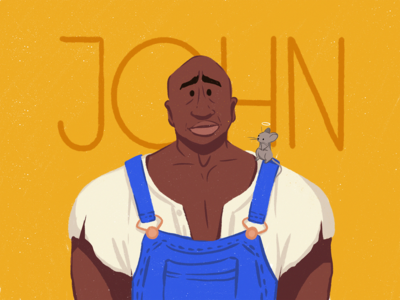 John Coffey Illustration