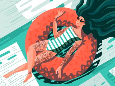 Designing Summer Illustration