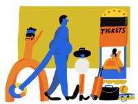 Ticket to Dream Illustration