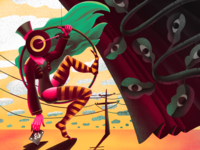 Circus Madness Illustration