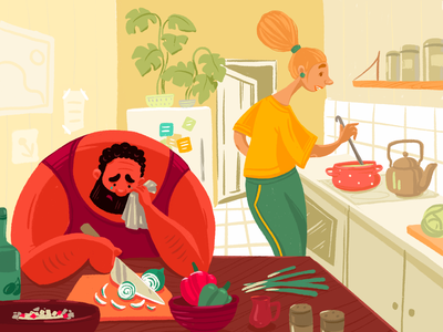 Kitchen Art Designs Themes Templates And Downloadable Graphic Elements On Dribbble