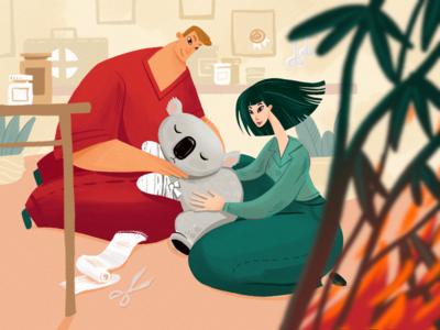 Animal Rescue Illustration