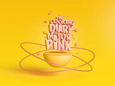 majors cooking diary yellow major pink pink major diary cooking adobe dimension