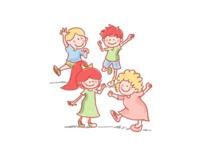 School break! school break having fun break school illustration fun kids children