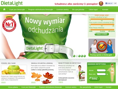 DietaLight webdesign web website dietalight