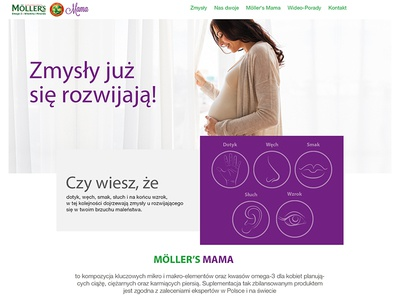 Mollers mama cod-liver oil mother mama webdesign webpage website www mollers