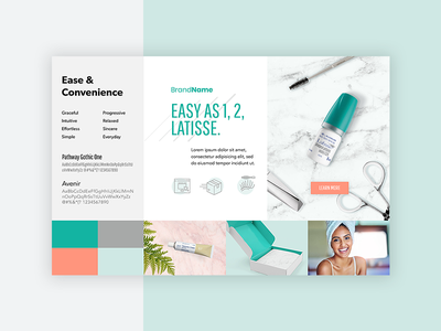 Moodboard web cosmetic inspiration guidelines brand guide style styles identity design branding moodboards