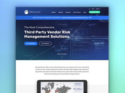 Prevalent redesign websites imarc agency digital graphic design web design